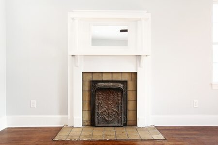 Old Fireplace Renovation